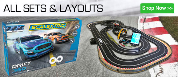 All Slot Car Racing Sets from Scalextric and Carrera