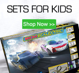 Scalextric and Carrera sets for Kids/Children